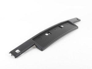 ES#2919345 - 51111888266 - Front plate filler  - European spec front plat rub strip - Genuine European BMW - BMW
