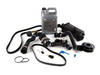 ES#263517 - ECSE461711-2 - ECS Cooling System Refresh Kit - Level 2 - A more advanced kit that includes belt service components - featuring OEM contents - Genuine BMW - BMW