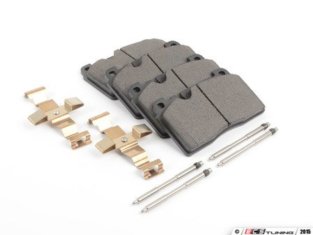 ES#2856005 - st105.16630 - Posi Quiet Ceramic Brake Pads - Restore the stopping power in your vehicle - Centric - Audi