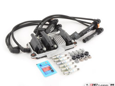 ES#2785385 - 078905104KT1 - Ignition Service Kit - Featuring Febi ignition coil and Prenco wires - Assembled By ECS - Volkswagen