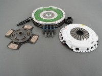ES#2602129 - 02029HDC4KT - Stage 4 Clutch Kit W/ Flywheel - Featuring a 4 puck ceramic disc and 12lb aluminum flywheel - Assembled By ECS - Audi