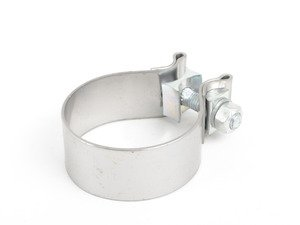 "ES#2931522 - 1166 - 2.5"" Accuseal Exhaust Band Clamp - T430 Stainless Steel - Vibrant Performance -"