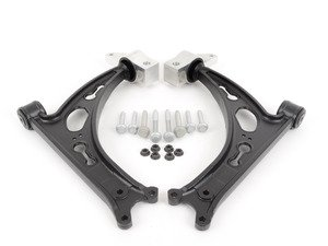 ES#2919045 - 1K0407151ACSKT2 - Front Control Arm Service Kit - Featuring Meyle heavy duty control arms with necessary hardware - Assembled By ECS - Volkswagen