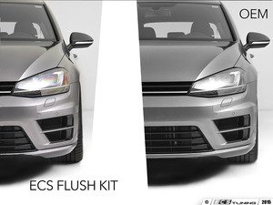 "ES#2863543 - 012900ECS01Akt -  Golf R Flush Kit (19"" Wheels) - black bolts - Bring your stock wheels to the ""flush"" position - ECS - Volkswagen"