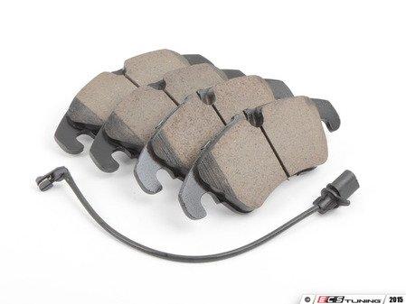 ES#2569618 - 8K0698151H - Front Euro Ceramic Brake Pad Set (EUR1322) - Restore stopping power with new ceramic pads - Akebono - Audi