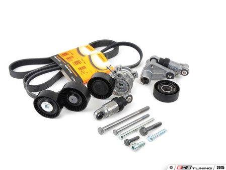 ES#2784774 - 11287838797KT4 - Accessory Belt Service Kit - Utilizes high quality aftermarket components - Assembled By ECS - BMW