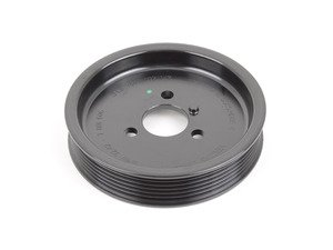 ES#1929451 - 32417801606 - Power Steering Pulley - Mounts on the front of the pump. - Genuine BMW - BMW