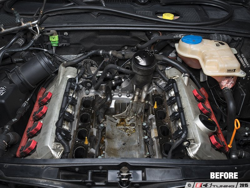 ECS News - Audi B6 S4 ECS Assembled Oil Check Valve Service Kit