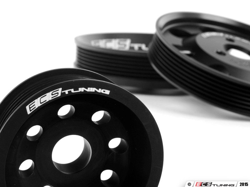 Audi B5 S4 2.7T Engine - V630VLWPS-BLK - Lightweight Pulley Set ...
