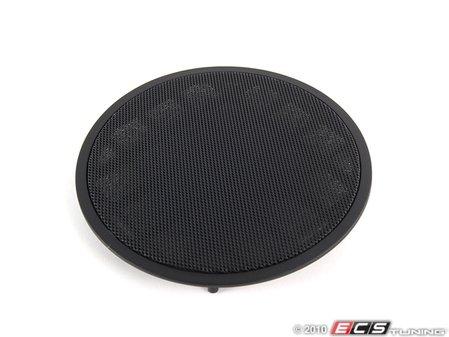 ES#101412 - 51418178241 - Front Speaker Cover - Priced Each - Scharwz/Black. Protects the front door speaker - Genuine BMW - BMW