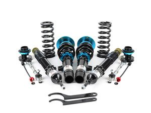 ES#2863189 - MRCDKE92EZ - EZ Street Series Coilovers - Ride height adjustable coilover system with 15-way damping adjustments and conservative spring rates perfect for slamming your car on a budget. - Megan Racing - BMW