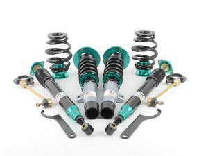ES#2858303 - MRCDKE46 - Euro-Street Series Coilovers - Ride height adjustable coilover system with 32-way damping adjustments and aggressive spring rates for those of you looking to perform on and off the track without breaking the bank - Megan Racing - BMW