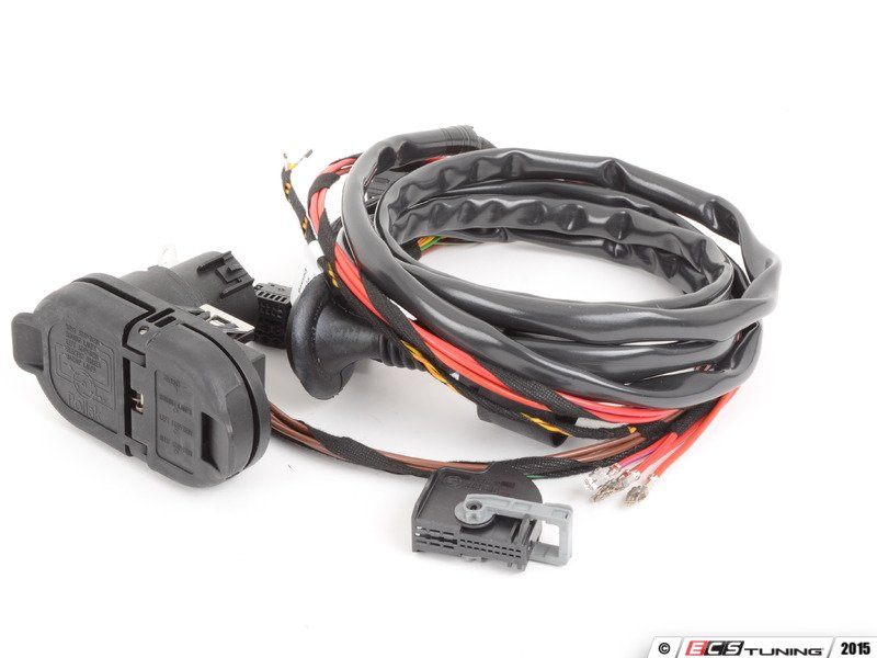 ES#2706501 - 82712349500 - Tow Hitch Wiring Harness - Includes all required wiring;  sc 1 st  ECS Tuning : trailer hitch wiring harness - yogabreezes.com