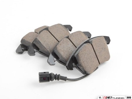 ES#1848558 - EUR1107 - Front Euro Ceramic Brake Pad Set - Ceramic composite developed to meet low dust & noise requirements. - Akebono - Audi Volkswagen