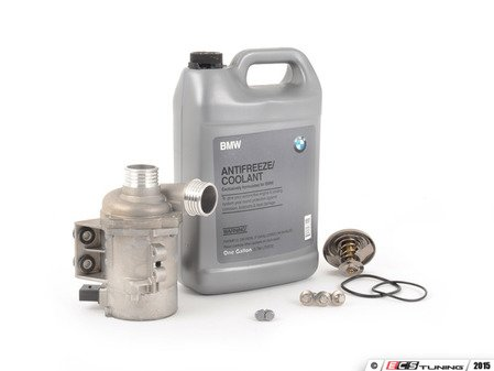 ES#2804557 - 11517586925KT9 - Performance Water Pump And Thermostat Kit - Includes a 74c race thermostat - Featuring a Pierburg pump - Assembled By ECS - BMW