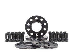 "ES#2951798 - 002411ECS01AKT2 -  Wheel Spacer Flush Fit Kit - Black Bolts - Includes spacers & Black bolts to obtain a flush look on your OE 19"" 'Peeler' style wheels - ECS - Audi"