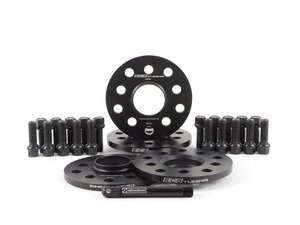 "ES#2951802 - 009978ECS01KT1 - Wheel Spacer Flush Fit Kit - Black Bolts - Includes spacers & Black bolts to obtain a flush look on your OE 19"" wheels - ECS - Audi"
