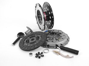 ES#2771104 - 003485ECS01AKT - performance Lightweight Flywheel Kit - Stage 1 - ECS Lightweight Flywheel with the Spec Stage 1 clutch kit rated at 315ft/lbs - ECS - Audi