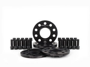"""ES#2951808 - 002411ECS03KT1 - Wheel Spacer Flush Fit Kit With Black Bolts - Aggressive - Includes spacers & Black bolts to obtain a flush look on your OE 20"""" 5-bar style wheels - ECS - Audi"""