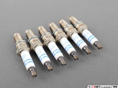 ES#2718124 - 95517021990KT1 - Spark Plugs - Set Of 6 - YR-7-LPP-332-W - Bosch - Porsche