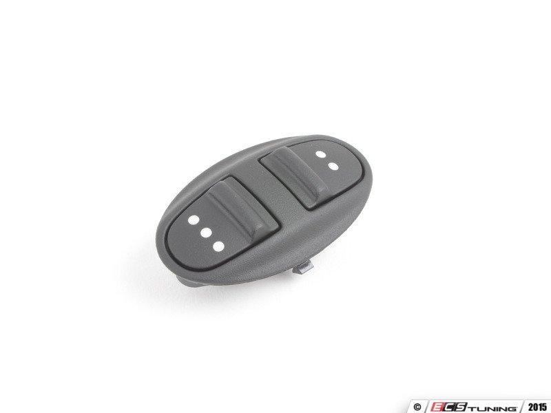 Genuine Porsche 99761322502a05 Double Homelink Switch Matte Black