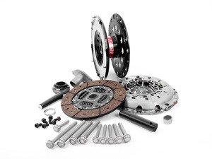ES#2807486 - 003485ECS01AKT4 -  performance Lightweight Flywheel Kit - Stage 2 Daily - ECS Lightweight Flywheel with a Southbend Stage 2 clutch kit rated at 375ft/lbs - ECS - Audi