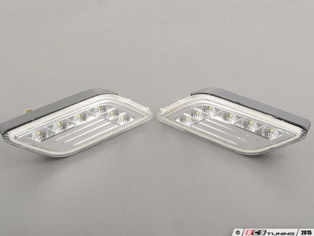 ES#2807914 - 3401416PXAVC - 2010-2013 MERCEDES W212 E- CLASS 4D/5D CRYSTAL CLEAR WHITE LED SIDE MARKER - Depo -