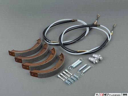 ES#2873041 - 344167612941KT - Parking Brake Service Kit  - Everything you need to service your parking brake system - Assembled By ECS - BMW