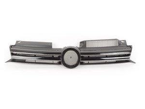 ES#2167525 - 5K0853653C - R-Line Style Grille - Get the European R line style grille for half the price and the full results! - Bremmen Parts - Volkswagen
