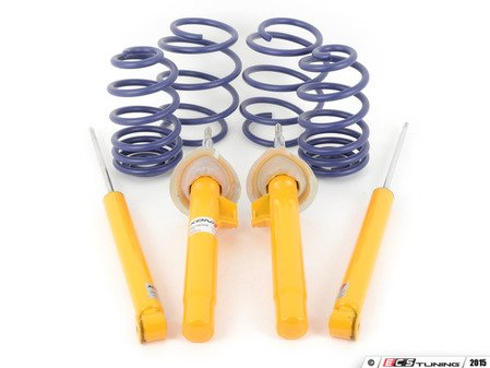 ES#2807059 - E46CUPKT2 - Performance Suspension Cup Kit - sport  - Featuring Koni Yellow shocks and H&R Sport lowering springs - Assembled By ECS - BMW