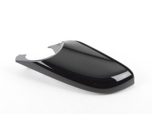 ES#2596199 - 51167284130 - Rear view mirror lower cap - right - Gloss black - Genuine BMW - BMW