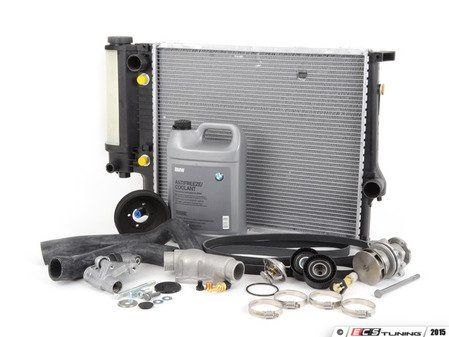 ES#2931665 - 17111737760bKT - ECS Cooling Maintenance Kit - Level 3 - The ultimate cooling refresh kit - featuring a Geba water pump with metal impeller - Assembled By ECS - BMW