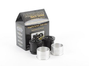 ES#2804657 - PFF5-1302Bx2 - Race Polyurethane Front Control Arm - Rear Bushings - Improves handling and control  upgrade to a more engaging driving experience - Powerflex Black Series - MINI