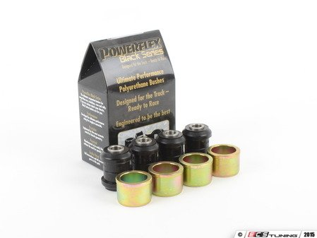 ES#2804693 - PFR5-1313Bx4 - Race Polyurethane Inner Lateral Arm Bushings Kit - Top Wishbone - Improves handling and control  upgrade to a more engaging driving experience - Powerflex Black Series - MINI