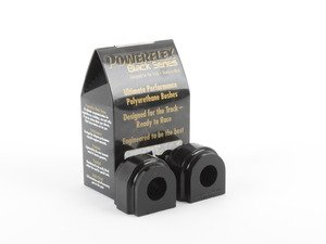 ES#2862420 - PFF5-1303-24.5Bx - Race Polyurethane Front Sway Bar Bushing Set - Stiffer bushings allow sway bars to work at their fullest potential. For 24.5mm front sway bar. - Powerflex Black Series - MINI