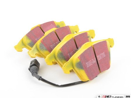 ES#520894 - DP41594R - Front YellowStuff Performance Brake Pad Set - A race quality pad that can be used at the track and back home again. - EBC - Audi Volkswagen