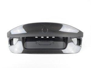 ES#2848943 - 008007ecs16a - CSL Style complete Carbon Fiber Trunk Lid - Get the legendary CSL look plus the benefits of lightweight carbon fiber. Reuses your factory trunk handle. - ECS - BMW