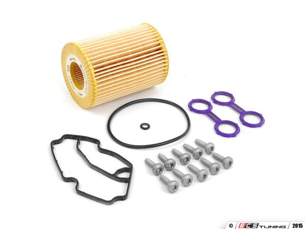 x2 Oil Cooler Gasket Seal FOR MERCEDES W212 E300 E350 3.0 09-/>ON Diesel Elring