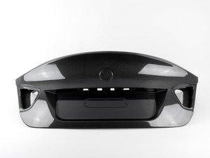 ES#2848942 - 008007ecs15A - CSL Style Complete Carbon Fiber Trunk Lid - Get the legendary CSL look plus the benefits of lightweight carbon fiber. Reuses your factory trunk handle. - ECS - BMW