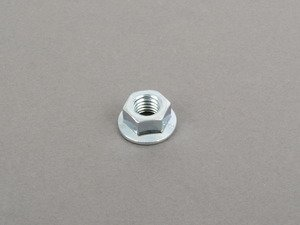 ES#2952228 - 96595A103C - Zinc-Plated Class 10 Steel Self-Locking Nut (15mm) - Priced Each - Install new hardware with your new parts. M10x1.5 - ECS - Audi Volkswagen