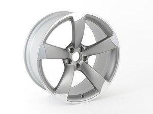 """ES#2589868 - 8T0601025CT - 20"""" Twisted 5-Spoke Wheel - Priced Each  - 20""""x9"""" ET26 5x112 Titanium/Aluminum face - Genuine Volkswagen Audi - Audi"""