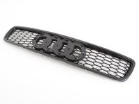 ES#2575591 - yt601201ph - RS4 Mesh Style Upper Grille - Black - Add a sleek Euro look with this black grille - ECS - Audi