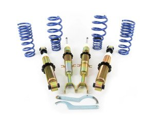 ES#2777310 - s1au004 - Audi B5 A4/S4 Solo-Werks S1 Coilovers  - Set your vehicle low and tight for optimal performance - Solo-Werks - Audi