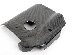 ES#4309 - CF02V04 - Carbon Fiber Engine Cover - Handmade carbon fiber cover for a cleaner look - ECS -
