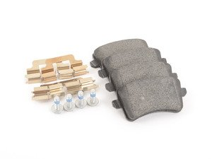 ES#2681084 - 8K0698451D - Rear Brake Pad Set - Restore the stopping power of your vehicle - Textar - Audi