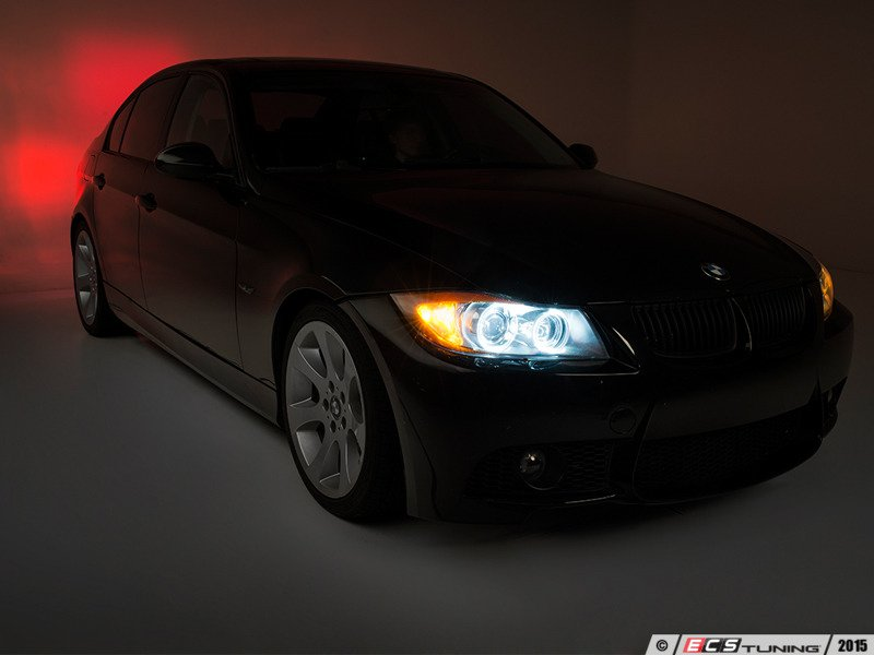 ecs news bmw e90 91 3 series ziza led angel eyes. Black Bedroom Furniture Sets. Home Design Ideas