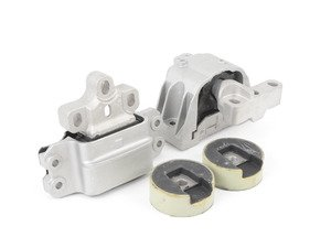 ES#2918660 - 034-509-5001-SD - Street Density Motor Mount Kit - Kit includes Engine, transmission, and dogbone mounts with 60 Durometer street density rubber - 034Motorsport - Audi Volkswagen