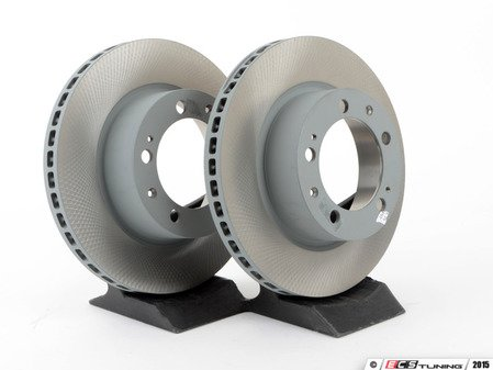 "ES#2515695 - 96435104102KT - Front Brake Rotors - Pair 11.73"" (298mm) - Front axle fitment - Both left and right - Genuine Porsche - Porsche"