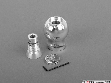 ES#259303 - FMBK6SPDPOLISH - Big Shift Knob - Polished - 6 speed shift pattern - Forge - Audi Volkswagen