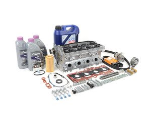 ES#2855523 - 06F103265BKT - Cylinder Head Replacement Kit - Includes complete cylinder head, required gaskets, hardware, oil and coolant! - Assembled By ECS - Audi Volkswagen